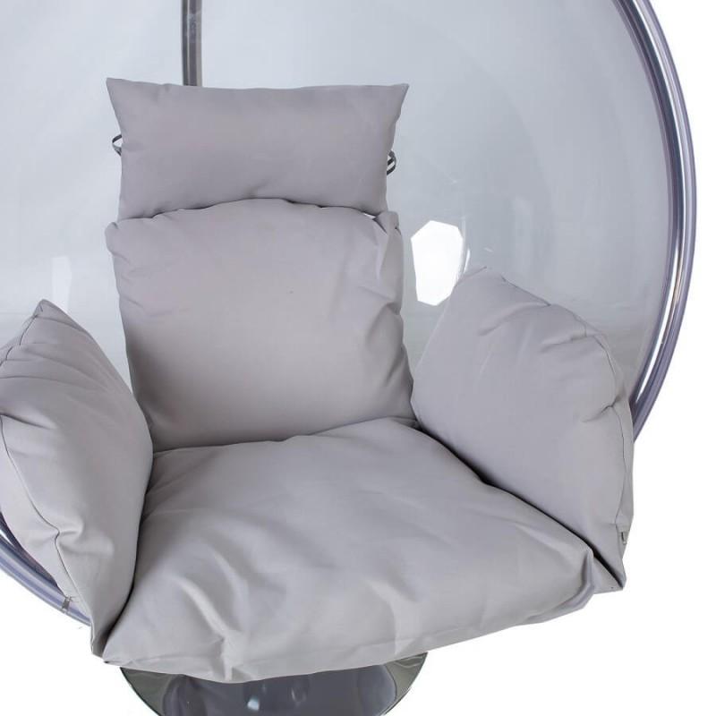 Kabanti kėdė BUBBLE iš skaidrąus plastiko
