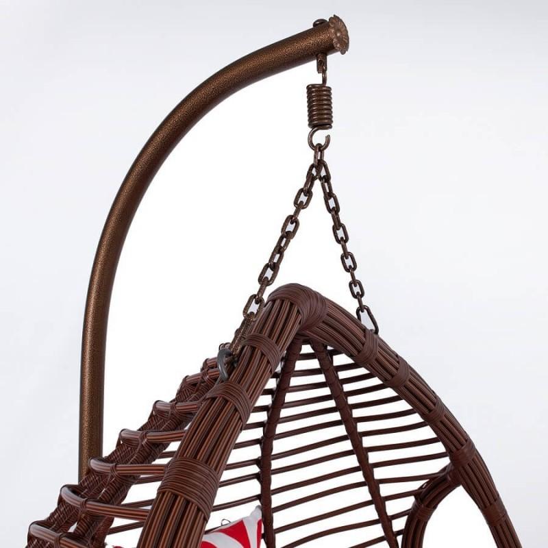 Pakabinamas krėslas DURYAN, rudas