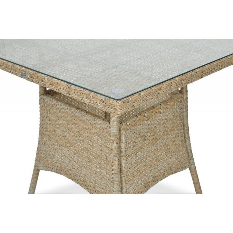 Sodo baldų rinkinys FIESTA/LUGO 4+1 BEIGE