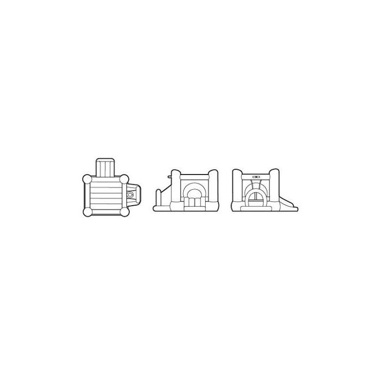 Pripučiamas batutas ŽAIDIMŲ CENTRAS 4 in 1