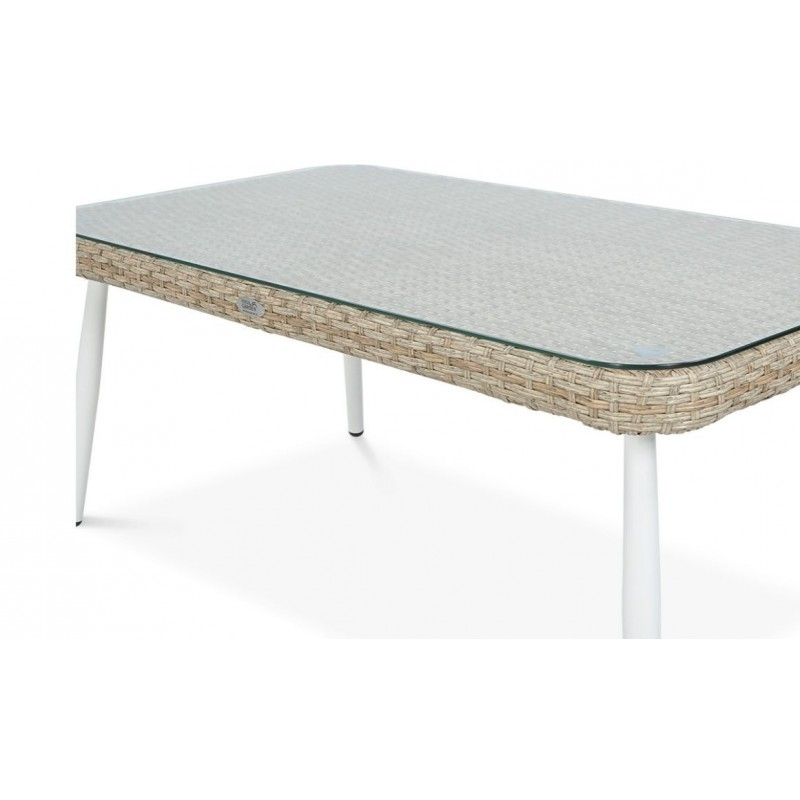 Sodo baldų komplektas ROCA BEIGE, smėlio spalvos