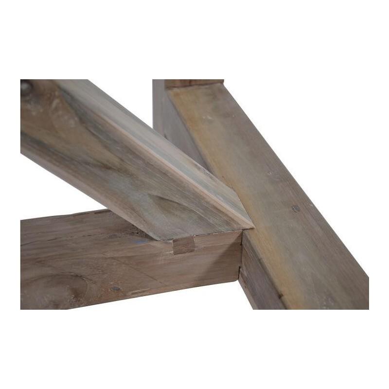 Sodo stalas iš perdirbto tikmedžio, 240X100X76 cm.