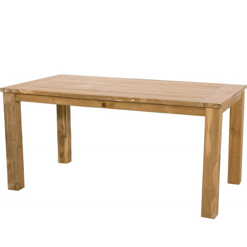 Sodo stalas iš perdirbto tikmedžio, 180x90x76 cm.