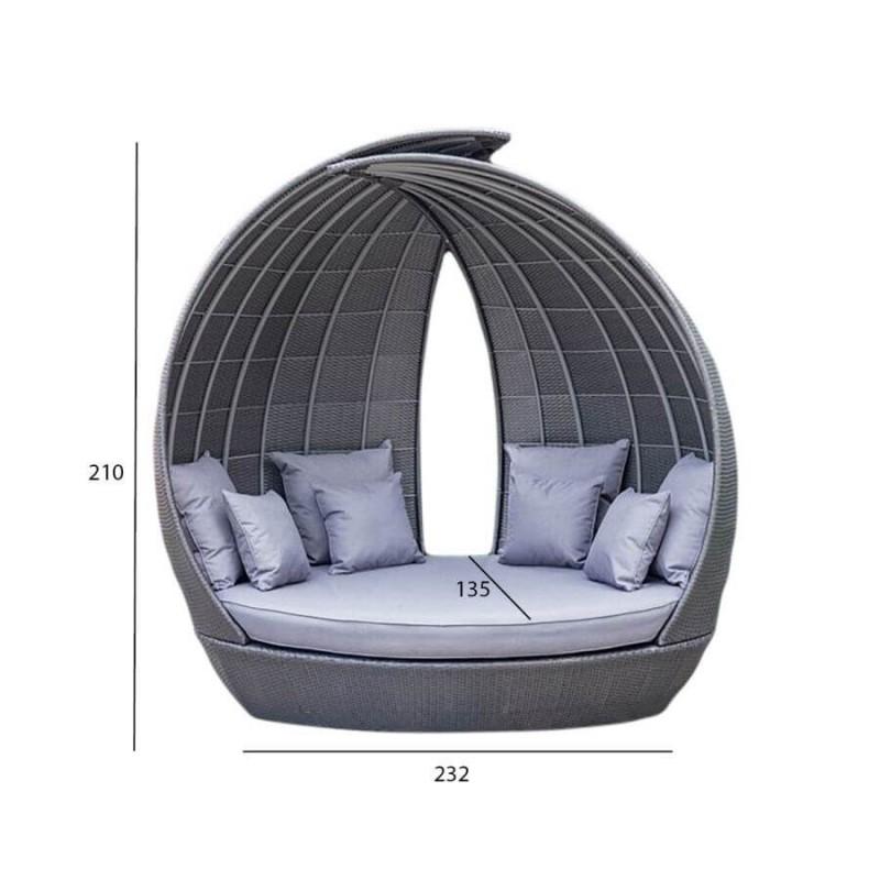 Lauko sofa WING