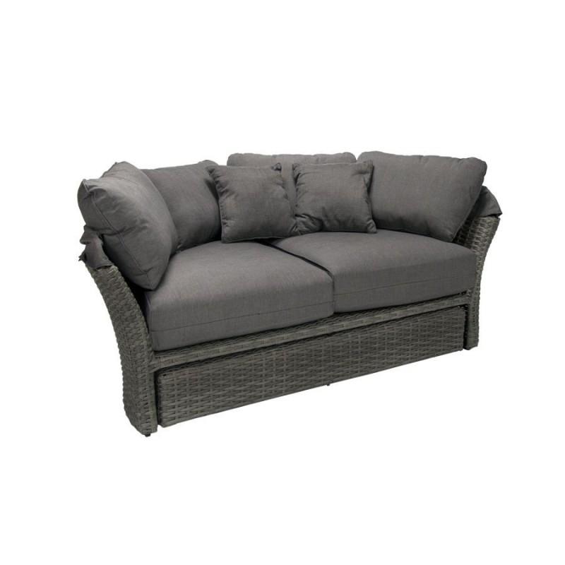 Lauko sofa MUSE su baldakimu ir pagalvėlėmis
