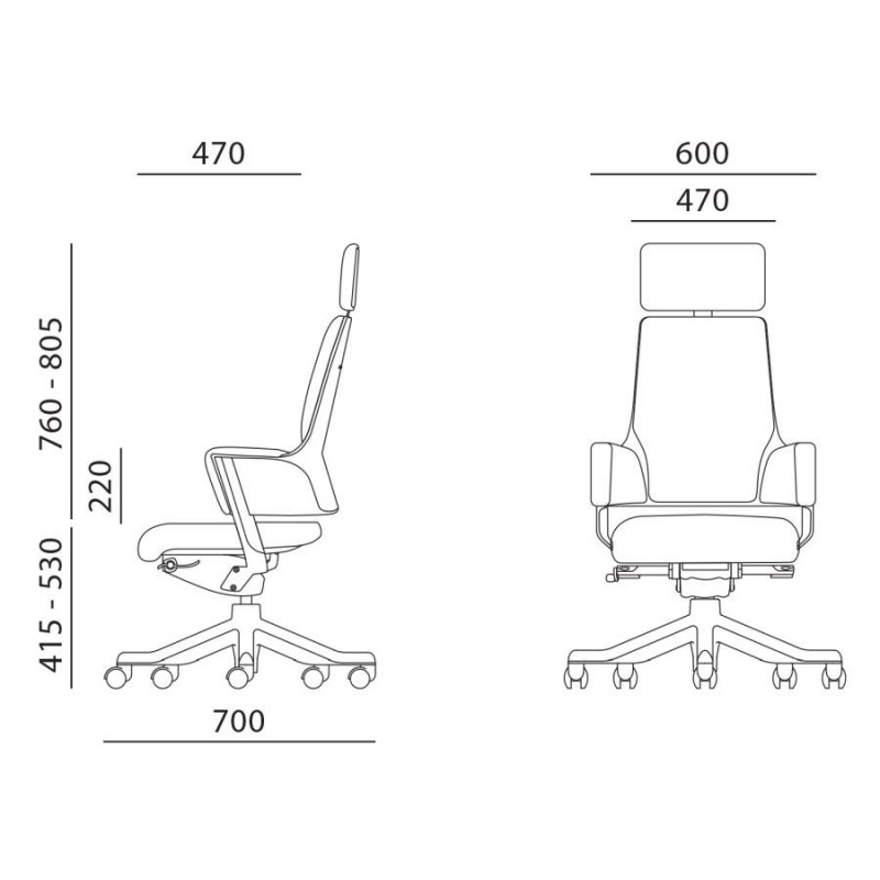 Darbo kėdė DELPHI, alyvuogių žalia