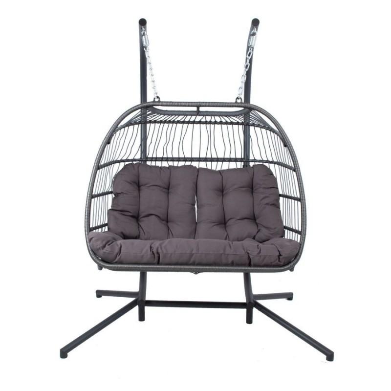 Dvivietis pakabinamas fotelis