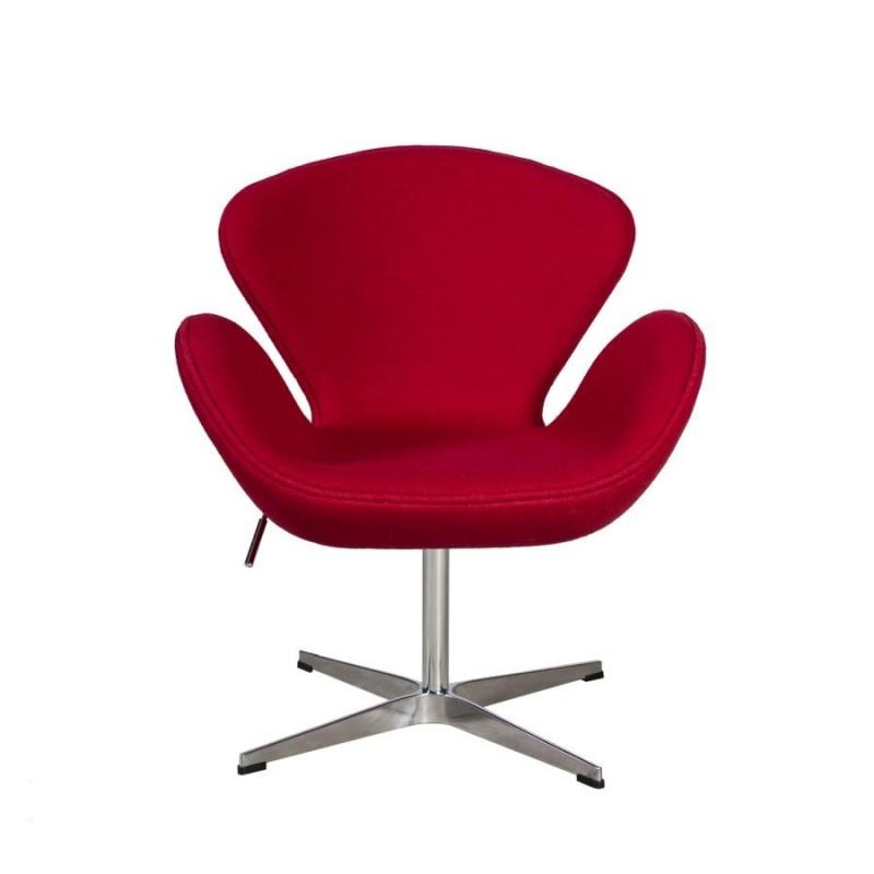 Kėdė SWAN, raudona
