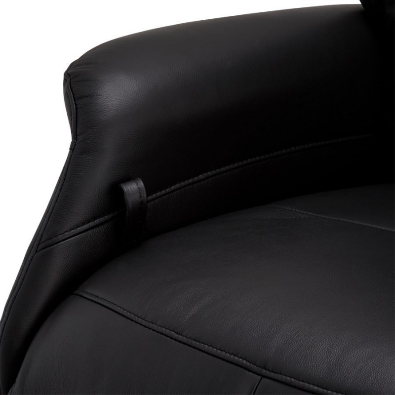 Fotelis DELTA, juodas