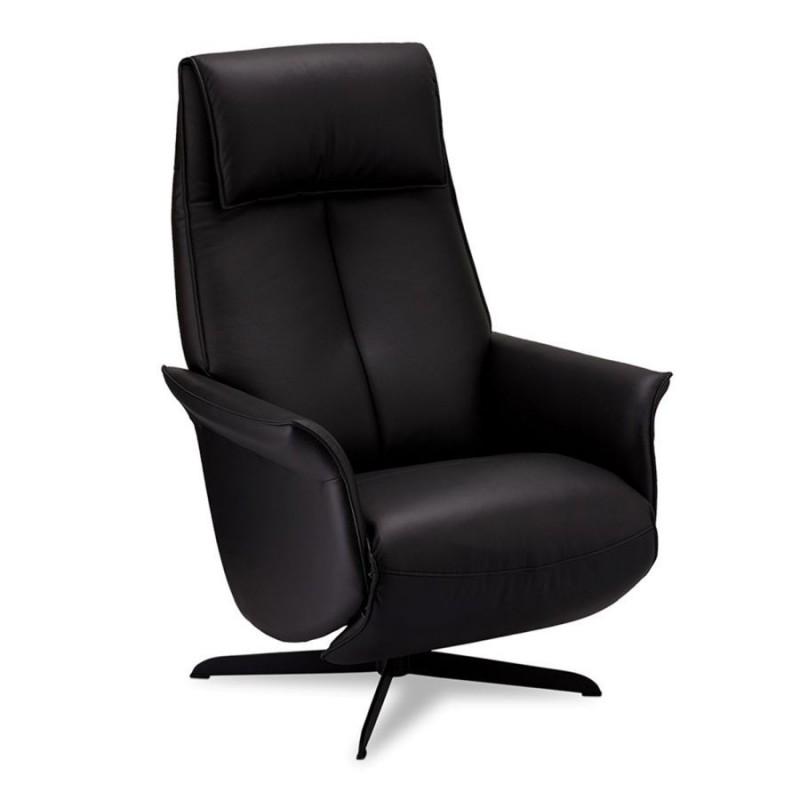 Fotelis EXXON, juodas