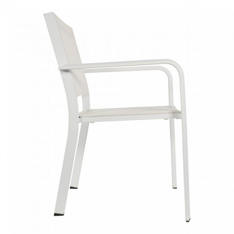 Sodo kėdė BREEZE, balta