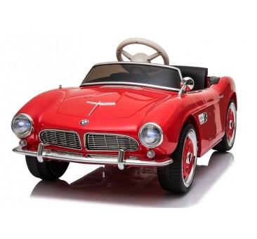 Elektromobilis BMW RETRO, raudonas, lakuotas