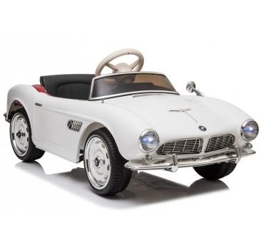 Elektromobilis BMW RETRO, baltas