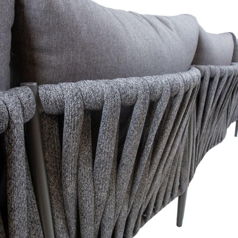 Sodo baldų komplektas BREMEN, pilkas