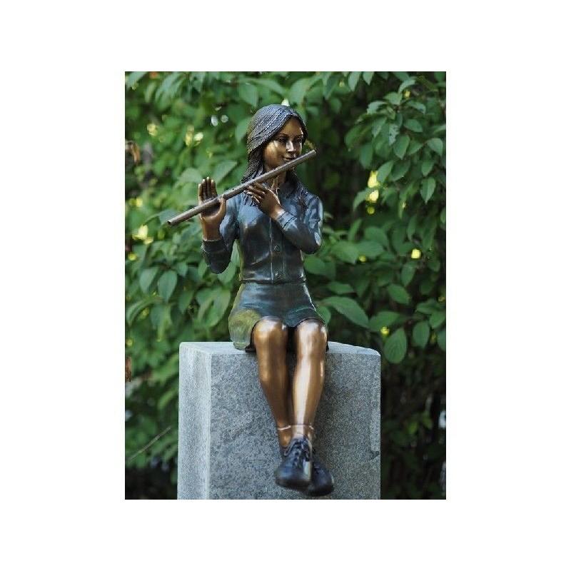 Sodo skulptūra Moteris, 66x34x28