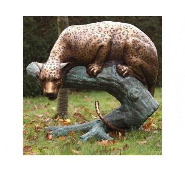 Sodo skulptūra Leopardas, 88x55x102