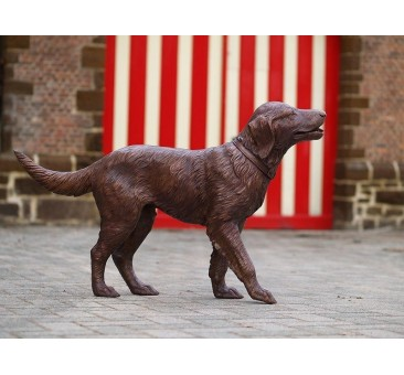 Sodo skulptūra Labradoras, 70x30x115