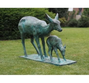 Sodo skulptūra, 80x35x115