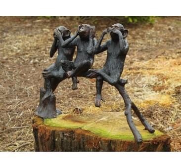 Sodo skulptūra Beždžionėlės, 45x60x28