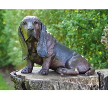 Sodo skulptūra Šuo, 39x34x52