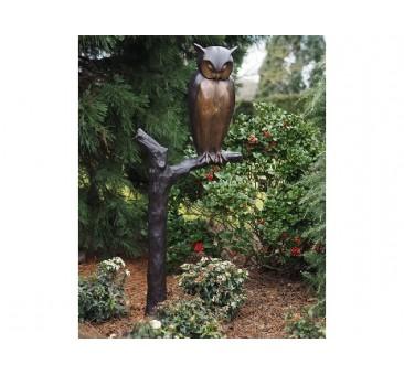 Sodo skulptūra Pelėda ant šakos, 171x65x96
