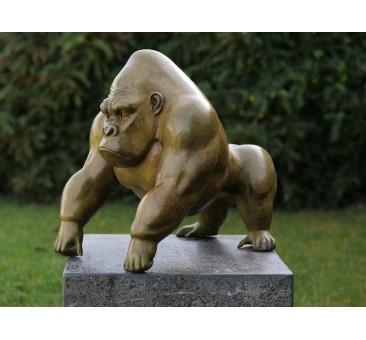 Sodo skulptūra Gorilla, 38x33x45