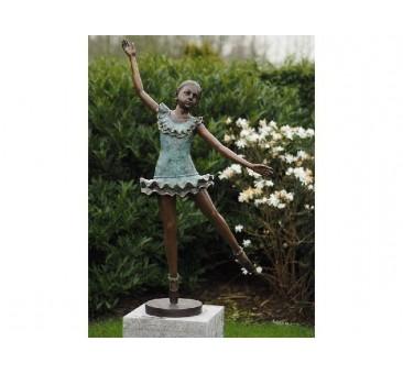 Sodo skulptūra Balerina, 130x64x32