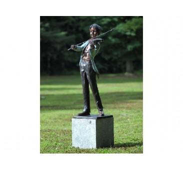 Sodo skulptūra Smuikininkas, 133x76x89