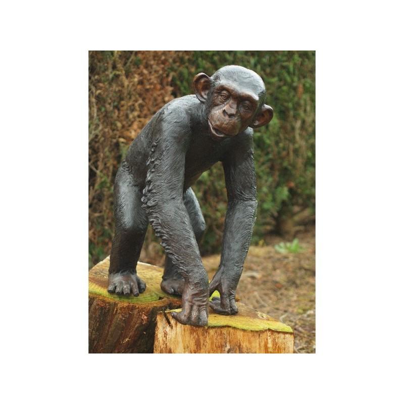 Sodo skulptūra Šimpanzė, 77x38x55