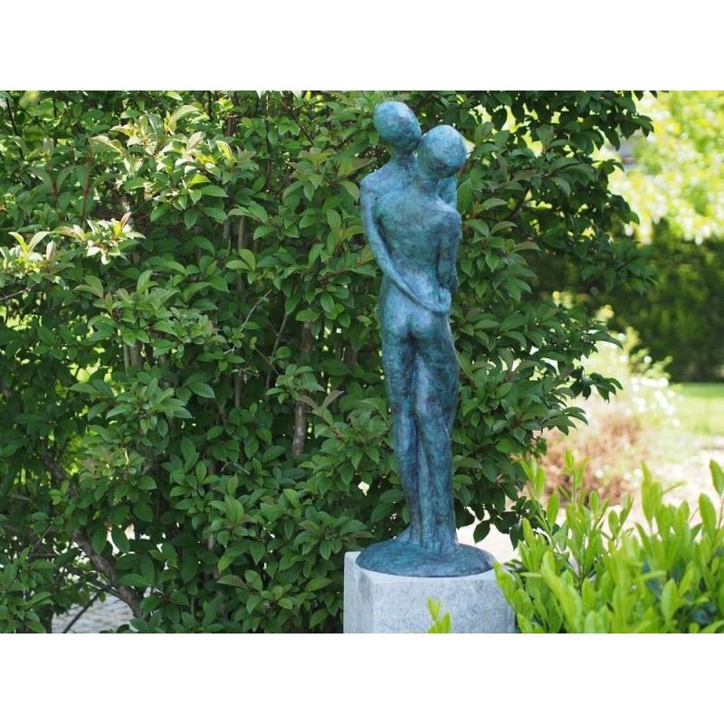 Sodo skulptūra Šiuolaikinė meilės pora, 95x30x30