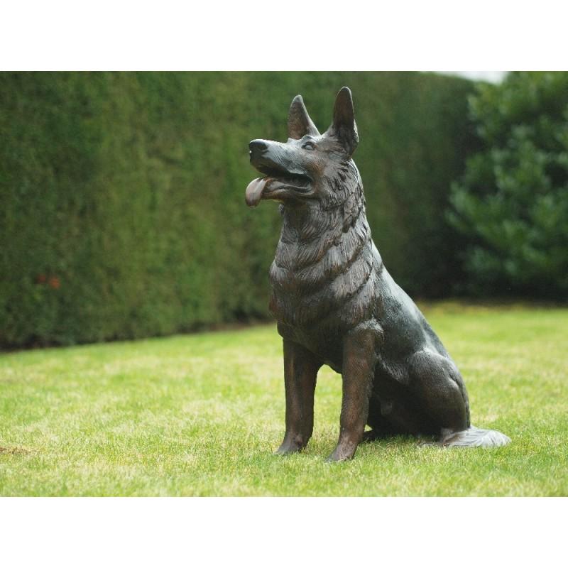 Sodo skulptūra Šuo, 75x33x55
