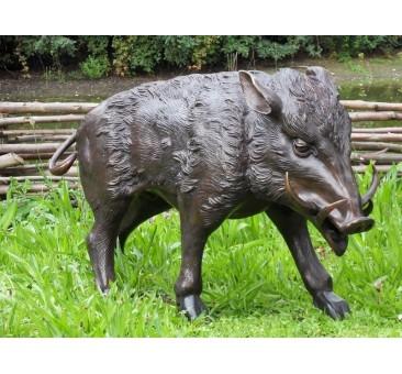 Sodo skulptūra Šernas, 55x41x96