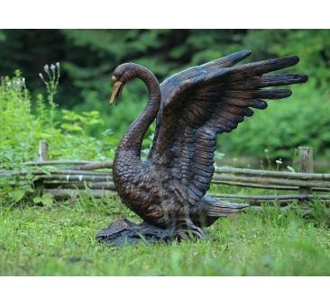 Sodo skulptūra Gulbė, 90x85x60