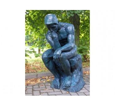 Sodo skulptūra Rodinas mąstytojas, 120x50x75