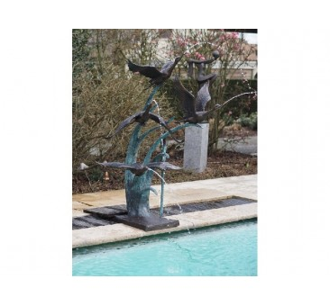 Sodo skulptūra Fontanas, 163x100x120