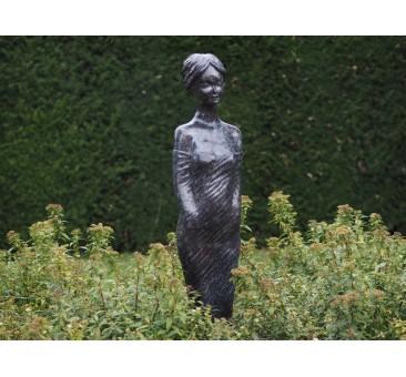 Sodo skulptūra Moderni moteris, 138x30x28
