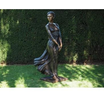 Sodo skulptūra Moteris, 171x50x64