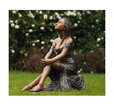Sodo skulptūra Moteris, 85x46x82