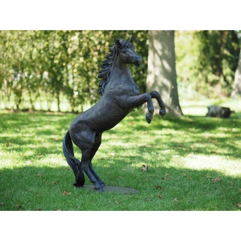 Sodo skulptūra Arklys, 100x30x65