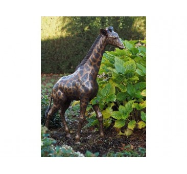 Sodo skulptūra Maža žirafa, 104x24x68