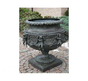 Sodo skulptūra Didelė vaza, 76x65x65