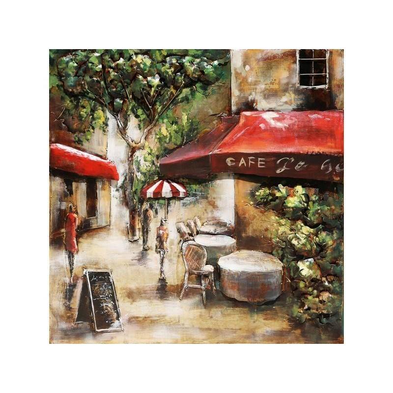 Paveikslas Paryžiaus kavinė, 60x60x6