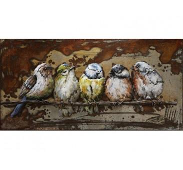 Paveikslas Paukščiai, 50x100x5