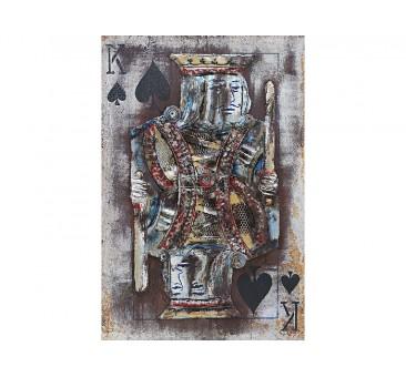 Paveikslas Pikų karalius, 80x60