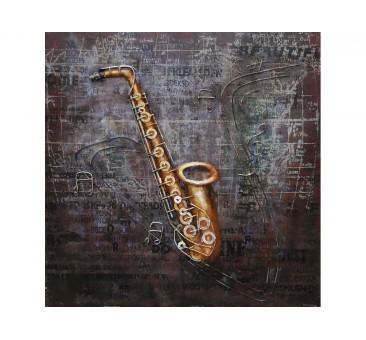 Paveikslas Saksofonas, 80x80