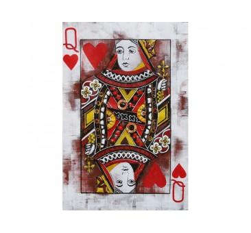 Paveikslas Širdžių karalienė, 60x40