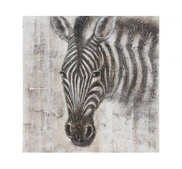 Paveikslas Zebras, 80x80