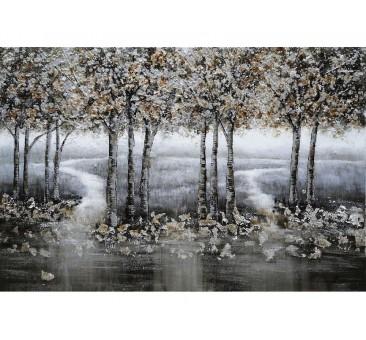 Paveikslas Sidabriniai medžiai, 80x120