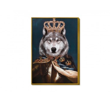 Paveikslas Karališkas haskis, 100x70