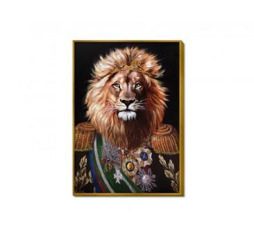 Paveikslas Karališkas liūtas, 100x70